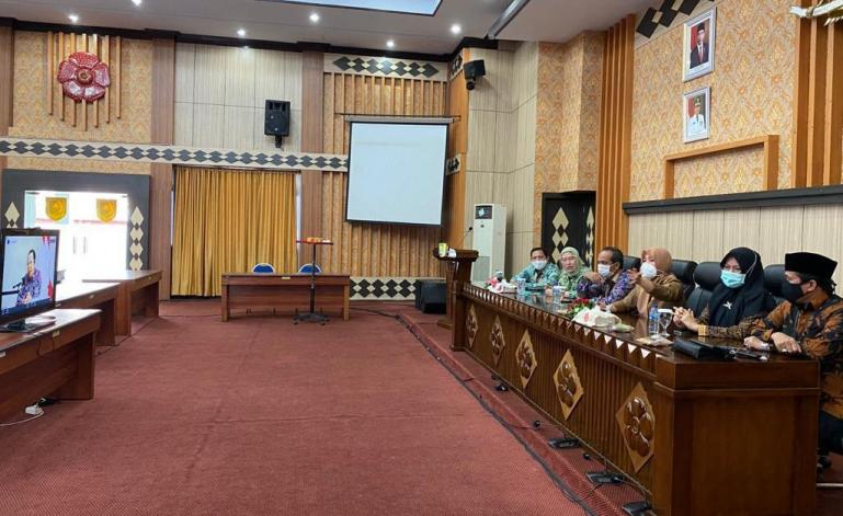 Pembukaan Sukatnas dan Rakornas Komisi se Indonesia diselengrakan secara virtual, Senin (26/10). (Dok: Istimewa)