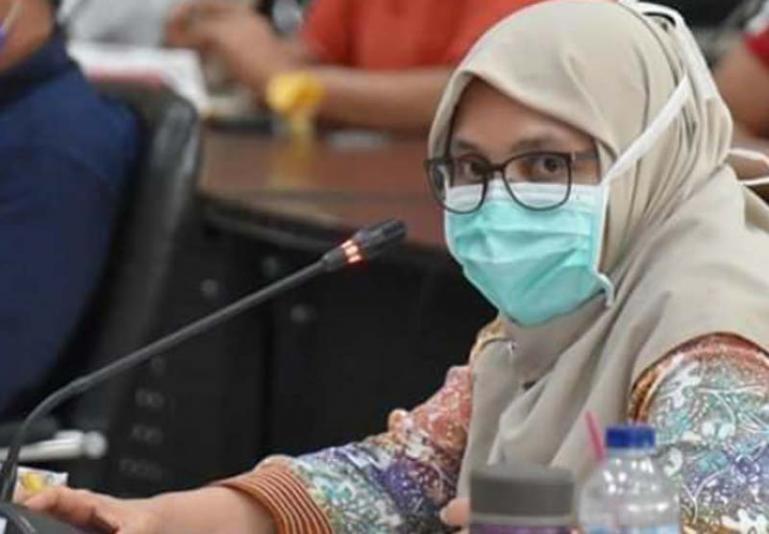 kepala Dinkes Kota Padang, Feri Mulyani. (Dok : Istimewa)