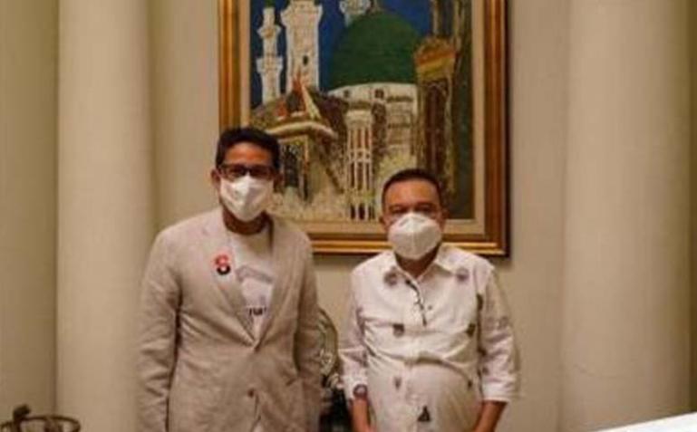Dua petinggi Partai Gerindra Sufmi Dasco Ahmad dan Sandiaga Salahuddin Uno akan ke Padang untuk mengkampenyekan kemenangan NA-IC. (Dok : Istimewa)