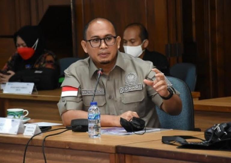 Ketua DPD Partai Gerindra Sumbar, Andre Rosiade. (Dok : Istimewa)