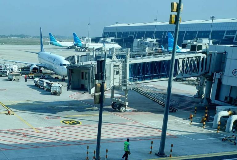 Terminal 3 Bandar Udara Internasional Soekarno--Hatta. (Dok : Istimewa)