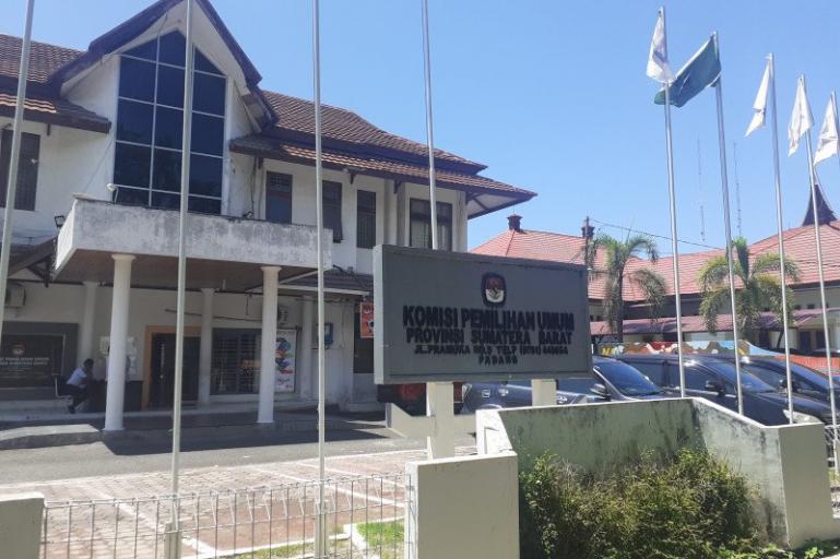 kantor KPU Sumbar (Dok : Istimewa)