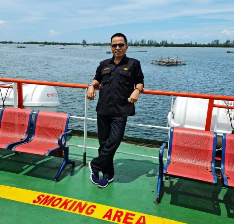 GM PT ASDP Padang, Asril. (Dok : Istimewa)