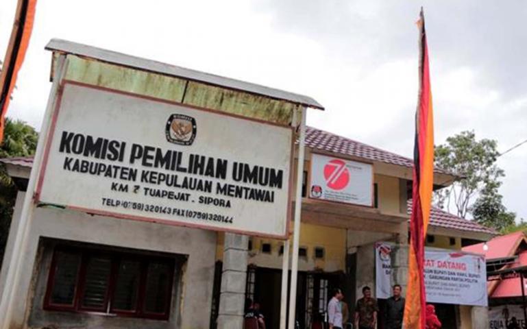 Belasan Penyelenggara Pemilu Di Mentawai Jalani Isolasi