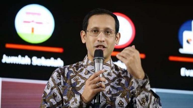 Mendikbud Nadiem Anwar Makarim. (Dok : Istimewa)