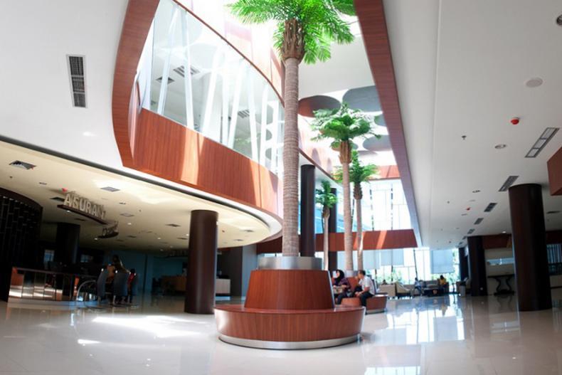 Salah satu ruangan tunggu di Semen Padang Hospital. (Foto : Istimewa)