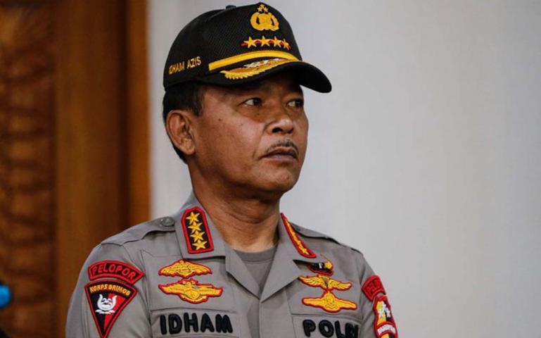 Kapolri Jenderal Pol Idham Aziz. (Dok. Kompas.com)
