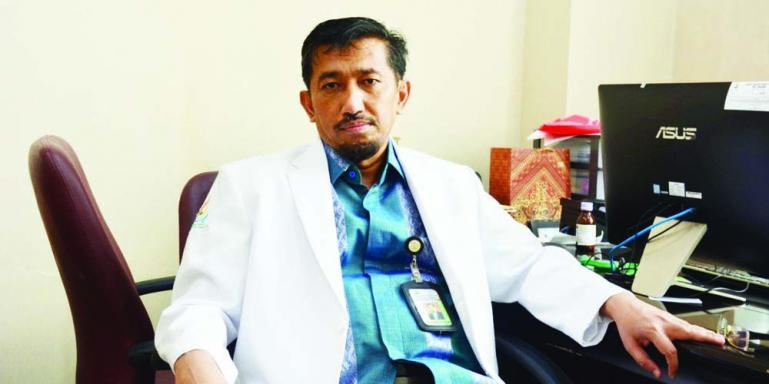 Kepala PDRPI FK Unand Padang, Dr dr Andani Eka Putra. (Dok : Istimewa)