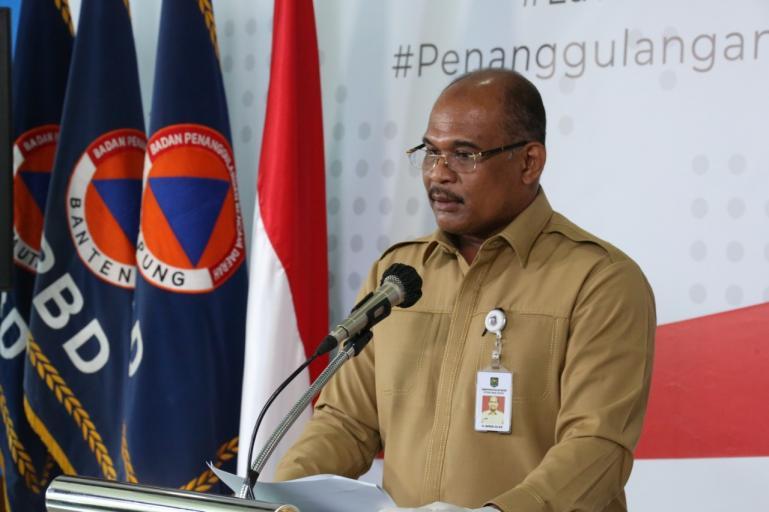 Direktur Manajemen Penanggulangan Bencana dan Kebakaran, Kemendagri, Safrizal ZA, saat sampaikan kebijakan Kemendagri soal penanganan Covid-19. (Foto: Isitimewa)