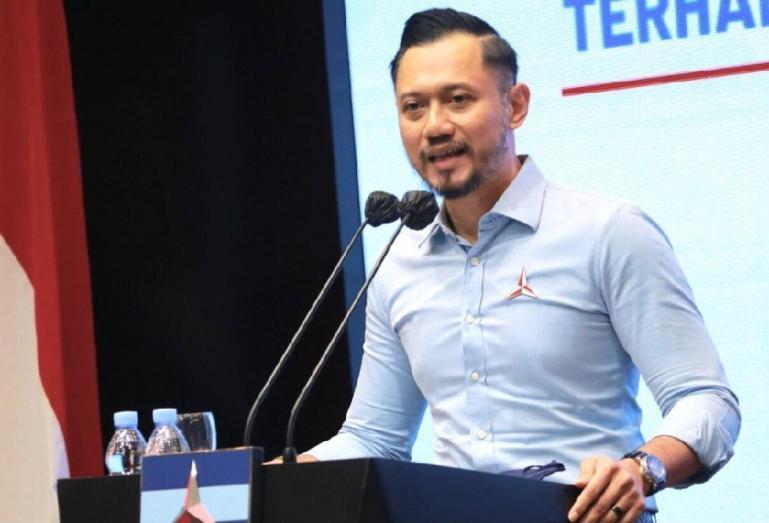 Ketua Umum Partai Demokrat, Agus Hari Mukti Yudhoyono (AHY) saar jumpa pers di Jakarta, Senin (2/3) kemarin. (Dok : Istimewa)