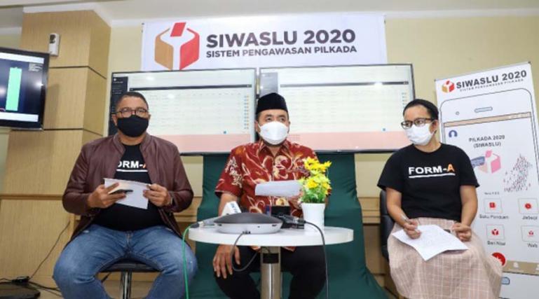 Anggota Bawaslu Fritz Edward Siregar beberkan ada potensi PSU di sejumlah TPS di beberapa daerah di Indonesia, Kamis (10/12). (Dok : Istimewa)