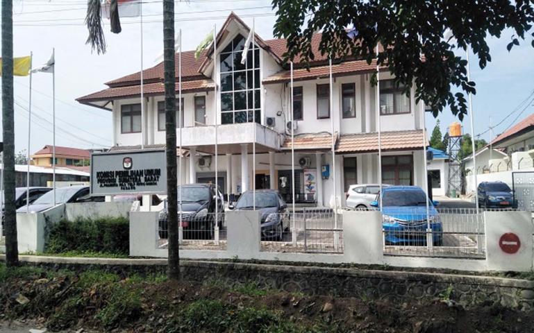 Gedung KPU Provinsi Sumatera Barat.