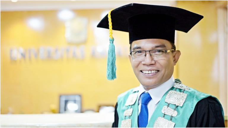 Foto Insert : Dekan Fakultas Teknologi Pertanian Unand Dr Ir Feri Arlius Dt Sipado, M.Sc.