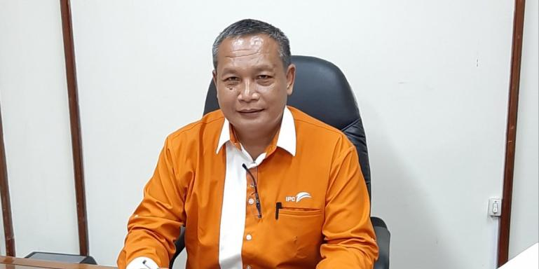 General Manajer PT Pelindo II Cabang Teluk Bayur, Wardoyo. (Dok : Istimewa)