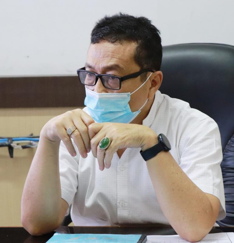 Kepala Dinas Kominfo Sumbar Jasman Rizal (Dok : Istimewa)