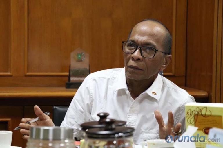 Sekretaris Komisi I DPRD Sumbar, Muhammad Nurnas. (Foto : Arunala.com)