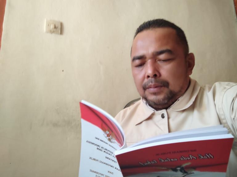 Wakil Ketua Komisi Informasi (KI) Sumbar Adrian Tuswandi. (Dok : Istimewa).