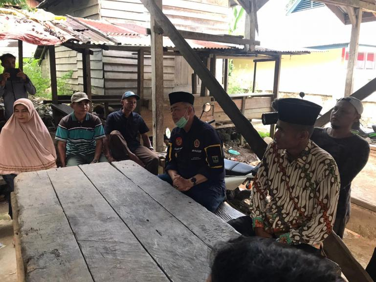Wagub Nasrul Abit saat kunjungan kerja ke Kecamatan Giliran Gumanti Kabupaten Solok, Senin (10/8) lalu. (Dok : Istimewa)