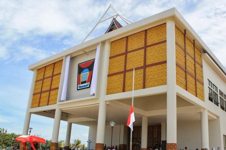Balai Kota Padang. (Foto : Istimewa)