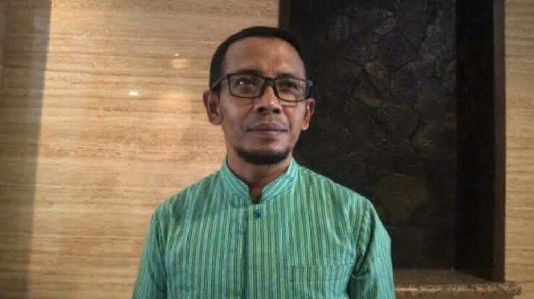 Anggota KPU Sumbar Nova Indra saat ditemui TribunPadang.com, Kamis (5/3/2020). (Dok : Tribunpadang.com)