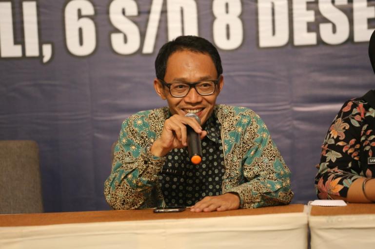 Plt Sekretaris DKPP, Arif Ma'ruf. (Dok : Istimewa)