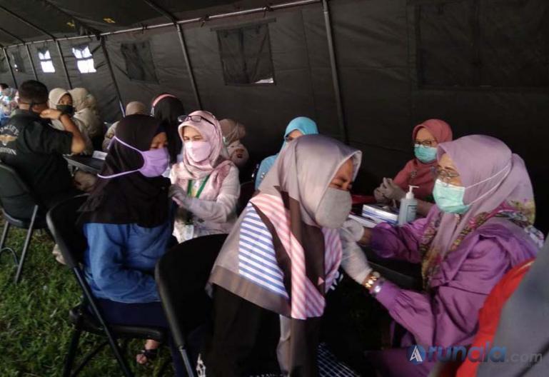 Kapolda: Puluhan Ribu Masyarakat Telah Divaksin