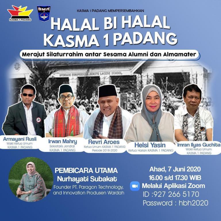 Ilustrasi : Halal Bi Halal KASMA 1 Padang.