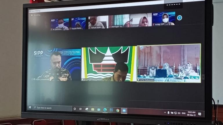 Vidcon Kementerian Pendayagunaan Aparatur Negara dan Reformasi Birokrasi (KemenPANRB), tentang