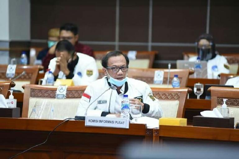 Foto :  Ketua KI Pusat Gede Nasrayana.