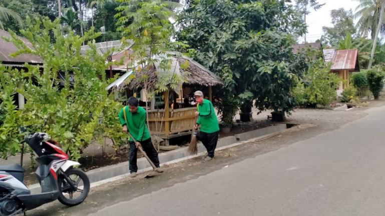 Anggota Barakai di Kecamatan Pariaman Timur melakukan aktivitasnya. (Dok : Istimewa)