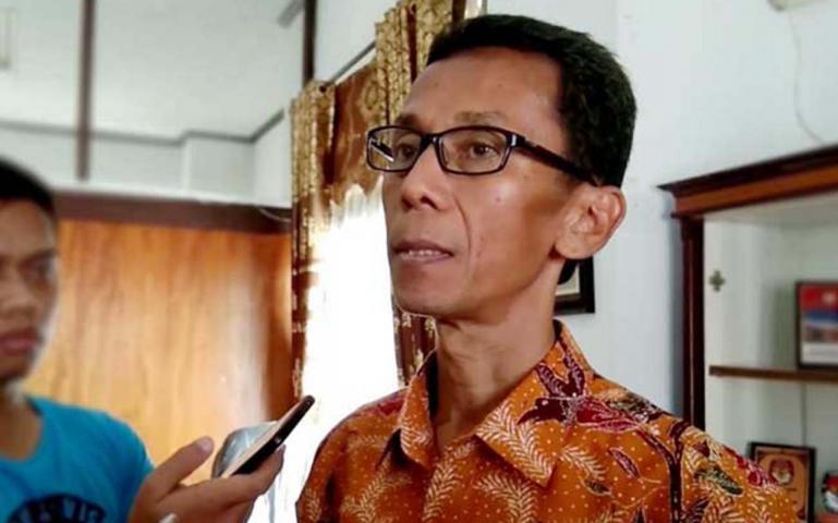 Ketua KPU Provinsi Sumatera Barat, Amnasmen. (Dok : Istimewa)