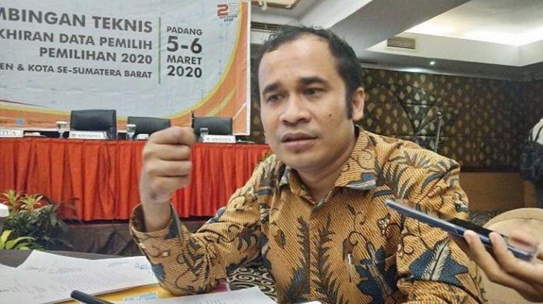 Komisioner KPU Sumbar Gebril Daulai (Dok : Istimewa)