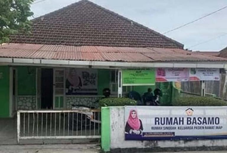 Rumah singgah basamo yang kedua disediakan Lisda Hendrajoni di kawasan Jati, Kota Padang. (Dok : Istimewa)