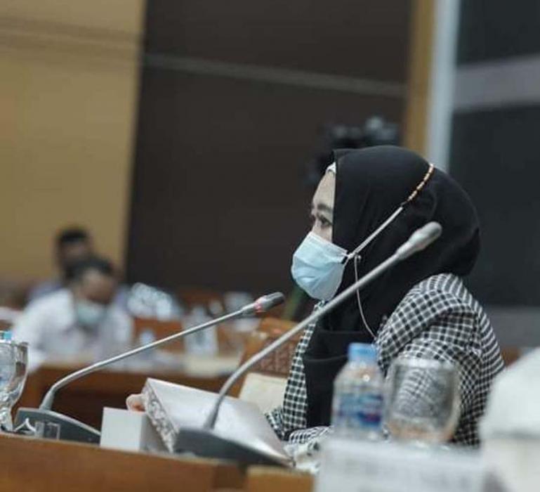Anggota DPR RI dari Fraksi NasDem, Lisda Hendrajoni. (Dok : Istimewa)