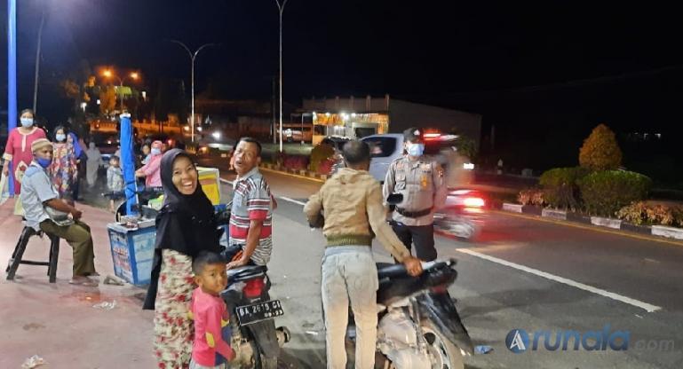 Malam Takbiran, Polres Pessel Gelar Patroli