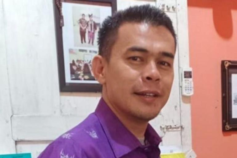 Ketua KPU Sijunjung, Lindo Karsya. (Dok : Istimewa)