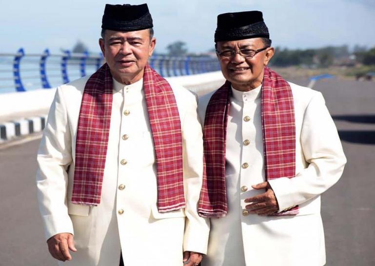 Pasangan Cagub-Cawagub Sumbar Nasrul Abit dan Indra Catri (Dok : Istimewa)