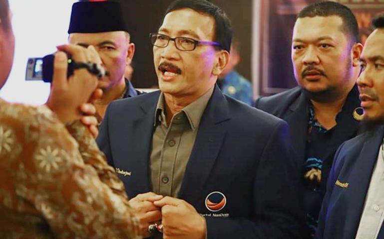 Ketua DPW NasDem Sumbar, Hendrajoni. (Dok : Istimewa)