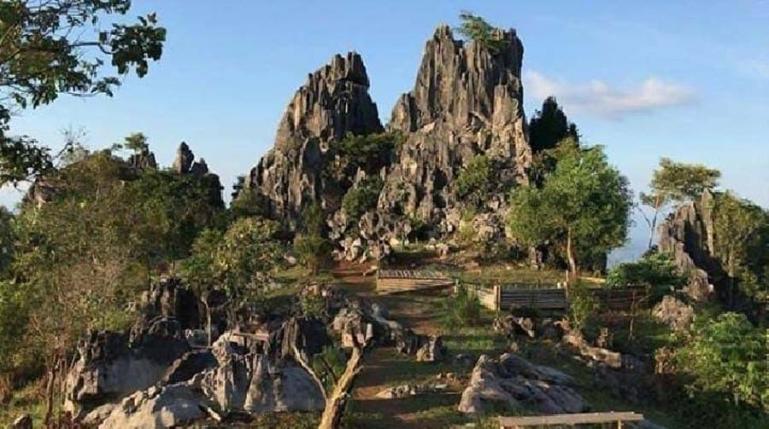 Salah satu destinasi geopark gua batu yang ada di Kabupaten Solok Selatan. Kawasannya bersama tiga tempat lainnya sudah diajukan Dinas Pariwisata Sumbar ke Unesco untuk dijadikan kawasan wisata dunia. (Dok : Istimewa)
