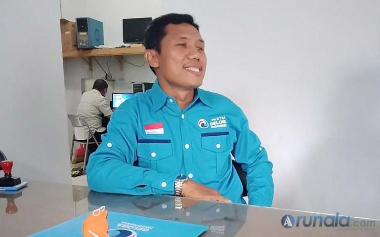 Ketua Partai Gelombang Rakyat (Gelora) Pessel Beni Jovial. (Foto : Snm)