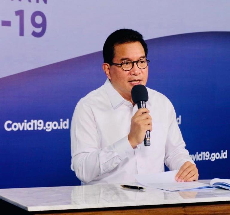 Juru Bicara Satuan Tugas Penanganan Covid-19 Pusat Wiku Adisasmito