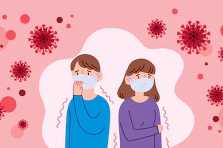 Ilustrasi virus Corona. (Shutterstock/roh)