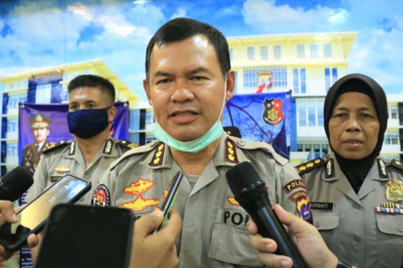 Kabid Humas Polda Sumbar, Stefanus Satake Bayu Setianto saat pertemuan tiga pekan lalu. (Dok. Polda Sumbar)