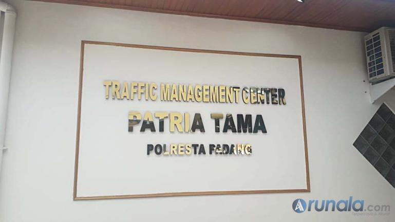 Lokasi TMC Polresta Padang yang akan segera diresmikan penggunaannya, Selasa (18/8). (Foto : Can)