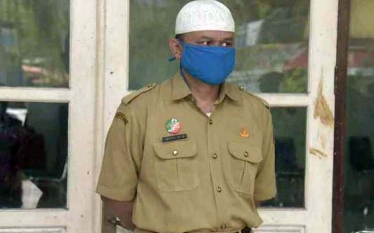 Kadiskominfo Padang Padang H. Ampera Salim Patimarajo. (Dok : Humas Kominfo Padang Panjang)