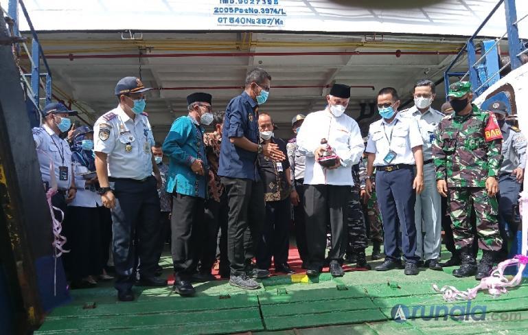 PT ASDP Padang Tambah Satu Unit Lagi Kapal Roro