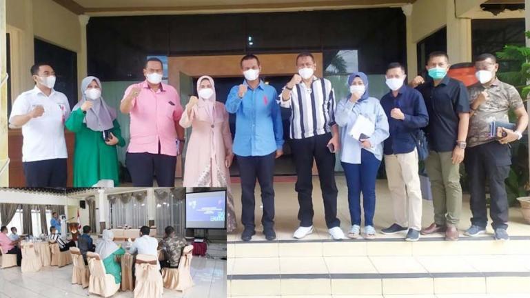 Wali Kota Pariaman, Genius Umar saat menerima kunjungan jajaran PT PPI, Jumat (14/5). (Dok : Istimewa)