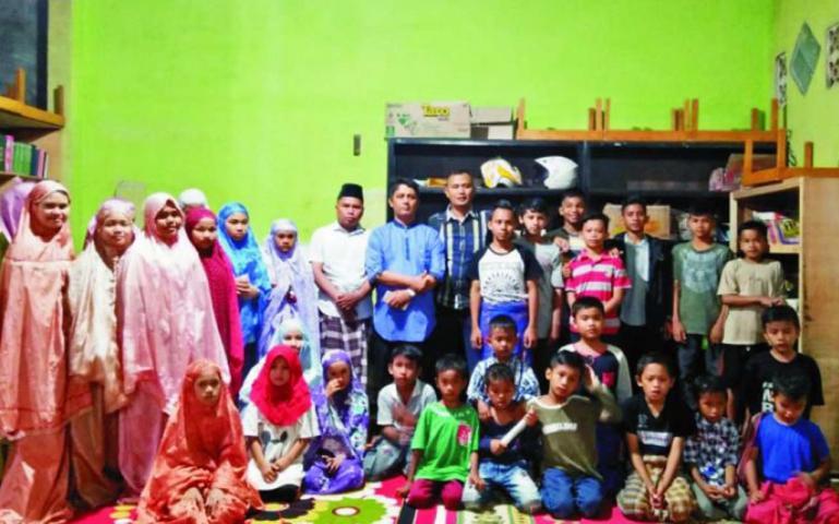 Panti Asuhan Bundo Saiyo, Padang. (Foto : Istimewa)