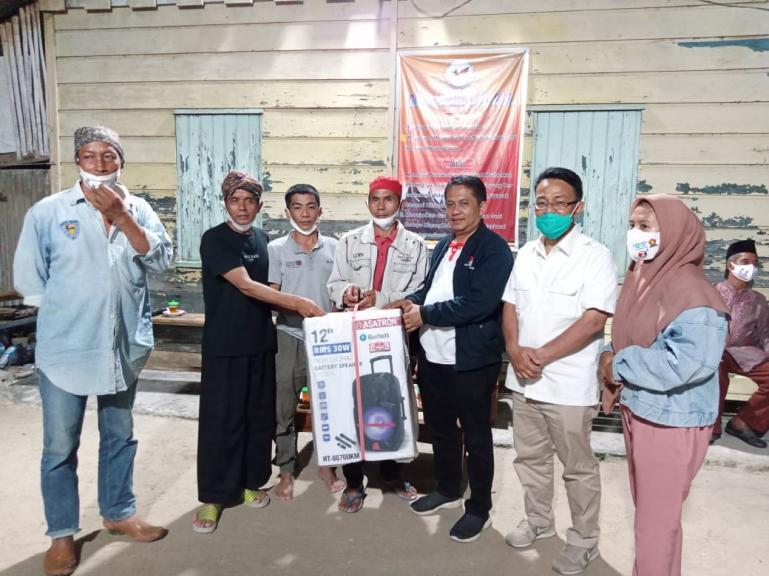 Cawagub Sumbar Indra Catri saat penuhui undangan silaturahmi kelompok Randai Nago Sati, Padang, Minggu (18/10). (Dok : Istimewa)
