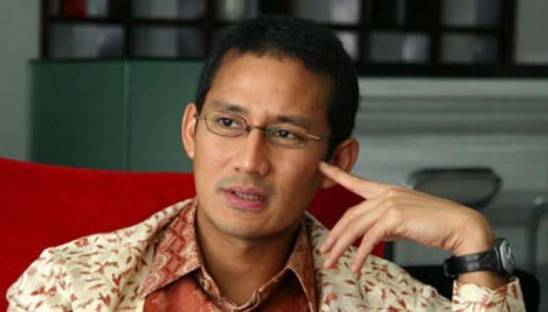 Menteri Pariwisata dan Ekonomi Kreatif Sandiaga Salahuddin Uno. (Dok : Istimewa)